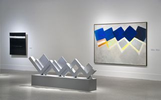 """View of the exhibition """"Mack. Light, Space, Colour"""" at Bundeskunsthalle  Bonn (Germany), 2011 