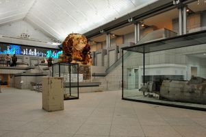 "View of the group exhibition ""Takashi Murakami's Superflat collection, from Soga Shohaku and Kitaoji Rosanjin to Anselm Kiefer"" at Yokohama Museum of Art  Yokohama (Japan), 2016 | Takashi MURAKAMI"