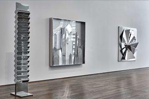 "View of the exhibition ""Heinz Mack. Licht Schatten"" at Museum Frieder Burda  Baden-Baden (Germany), 2015 | Heinz MACK"
