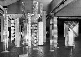 View of the exhibition  at Akademie der Künste  Berlin (Germany), 1972 | Heinz MACK