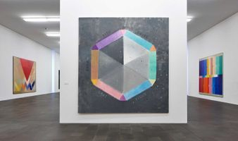 "View of the exhibition ""MACK. Apollo in my studio"" at Museum Küppersmühle für Moderne Kunst  Duisburg (Germany), 2015 | Heinz MACK"