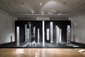 """View of the group exhibition """"Zero: The International Art Movement of the 50s and 60s"""" at Berliner Festspiele, Martin-Gropius-Bau  Berlin (Germany), 2015 