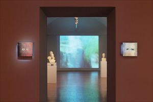 "View of the exhibition ""Para Museum"" curated by Philippe Costamagna  at Musée des beaux-arts Palais Fesch Ajaccio (France), 2016 