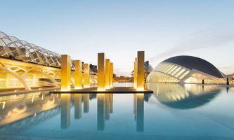 "View of the exhibition ""The Sky Over Nine Columns"" at Ciudad de les Artes  Valencia (Spain), 2016 | Heinz MACK"