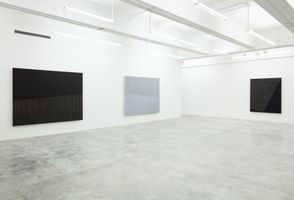 "View of the exhibition ""Park Seo-Bo"" at Tina Kim Gallery New York (USA), 2016 