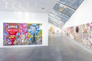 "View of the group exhibition ""Murakami by Murakami"" curated by Gunnar B. Kvaran and Therese Möllenhoff  at Astrup Fearnley Museet  Oslo (Norway), 2017 | Takashi MURAKAMI"