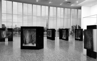 View of the exhibition  curated by Mary Buxton  at The Houston Museum of Fine Arts  Houston (USA), 1969 | Hans HARTUNG