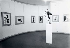 "View of the exhibition ""Hans Hartung"" at Musée national d'art moderne Paris (France), 1969 | Hans HARTUNG"