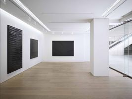 View of the exhibition  at Piramide Building, 6-6-9 Roppongi, Minato-Ku  Tokyo (Japan), 2017 | Pierre SOULAGES