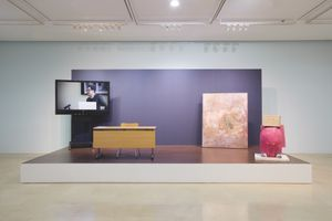 "View of the exhibition ""Good Labor Bad Art"" at PLATEAU SAMSUNG MUSEUM OF ART (South Korea), 2013 