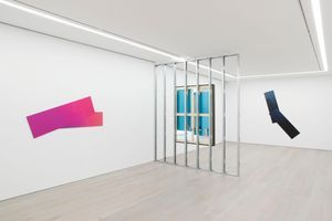 """Vue de l'exposition """"Rooms Greet People By Name"""" à NEW YORK GALLERY  (USA), 2018 