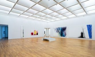 "展覽現場圖 ""Malerei als Experiment – Werke von 1962-1989"" 於 Kunstmuseum Bonn  Bonn (Germany), 2018 | 漢斯·哈同"