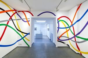 """View of the exhibition """"Sol LeWitt, presented by Paula Cooper Gallery"""" at Cahiers d'Art Gallery  PARIS (France) 