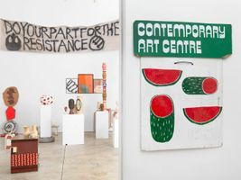 View of the exhibition  at CHEIM & READ  NEW YORK (USA) | Barry MCGEE