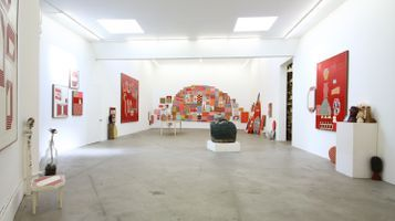 """View of the exhibition """"China Boo"""" at Ratio 3  SAN FRANCISCO (USA) 
