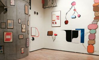 """View of the exhibition """"Barry McGee + Clare Rojas: Big Sky Little Moon"""" at WATARI-UM  TOKYO (Japan), 2017 