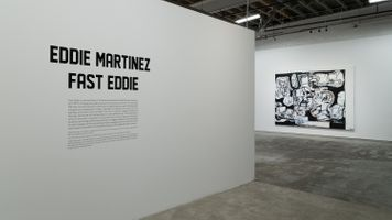 "View of the exhibition ""Fast Eddie"" at Museum of Contemporary Art Detroit  Detroit (USA) 