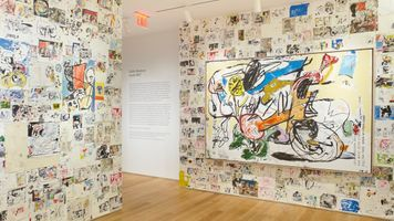 """Studio Wall"" at The Drawing Center  New York (USA) 