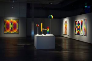 "View of the exhibition ""Julio Le Parc - Un visionario"" at CCK  Buenos Aires (Argentina), 2019 