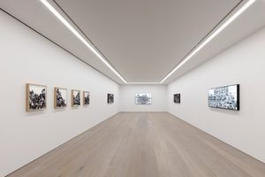 "View of the exhibition ""The Chronicles of New York City – Sketches"" at Perrotin New York  New York (USA), 2019 