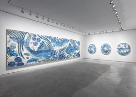 "View of the exhibition ""Baka"" at GALERIE PERROTIN PARIS (France), 2019 | Takashi MURAKAMI"