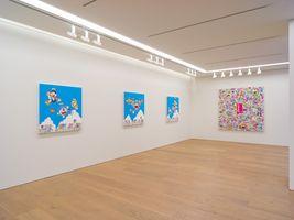 "View of the exhibition ""Superflat Doraemon"" at Perrotin Co., Ltd. Tokyo (Japon), 2019 | Takashi MURAKAMI"