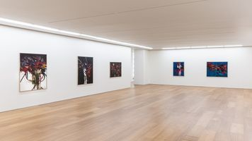 View of the exhibition  at HONG KONG GALLERY Hong Kong (Hong Kong), 2019 | Georges MATHIEU