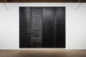 View of the exhibition  at Shanghai Perrotin Art and Culture Limited Shanghai (Chine), 2019 | Pierre SOULAGES