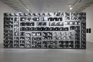 "聯展現場圖 ""Le Supermarché des images"" curated by Peter Szendy   于 JEU DE PAUME  PARIS (France) 