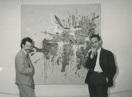 Vue de l'exposition  à TEL AVIV MUSEUM OF ART TEL AVIV (Israel) | Georges MATHIEU