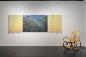 "View of the exhibition ""The Real Deal is Talking with Dad"" at YUZ MUseum SHANGHAI (China) 