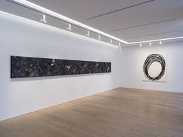 "View of the exhibition ""THE SUBLIME CHARCOAL LIGHT "" at Perrotin Co., Ltd. Tokyo (Japon), 2020 