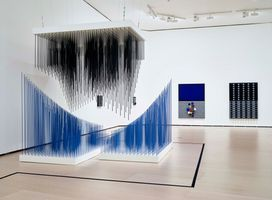 """View of the exhibition """"Soto. The Fourth Dimension"""" curated by Manuel Cirauqui  at MUSEO GUGGENHEIM BILBAO  BILBAO (Spain), 2019 