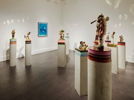 "View of the exhibition ""A Consummate Joy"" at IMMA / Museum of Modern Art Ireland  DUBLIN (Ireland), 2020 