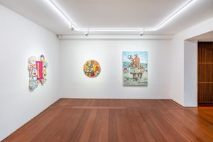 """View of the group exhibition """"Healing"""" at SEOUL GALLERY Seoul (South Korea), 2020 