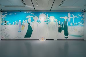 "View of the group exhibition ""Bubblewrap"" at Contemporary art museum, kumamoto  Kumamoto (Japan) 