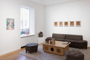 "Vue de l'exposition de groupe ""Healing"" à GALERIE PERROTIN Paris (France) | Aya TAKANO"