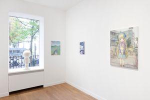 "View of the group exhibition ""Healing"" curated by Takashi Murakami  at GALERIE PERROTIN Paris (France) | Emi KURAYA"