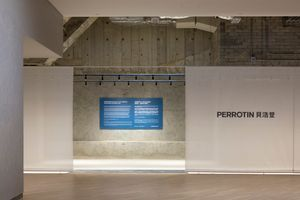 "View of the exhibition ""Perrotin Presents at K11 MUSEA: ""Servitudes"" by Jesper Just  "" at K11 MUSEA Art and Culture Centre (Hong Kong) 