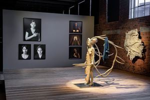 """Vue de l'exposition """"Contemporary Female Identities in the Global South"""" à JOBURG CONTEMPORARY ART FOUNDATION JOHANNESBURG (South Africa), 2020 