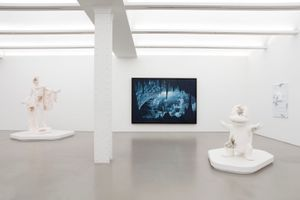 """View of the exhibition """"Time Dilation"""" at NEW YORK Gallery LLC New York (USA), 2021 