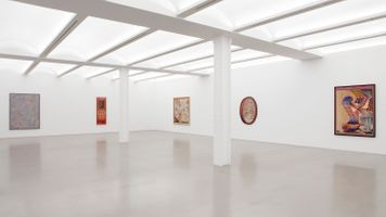 """View of the exhibition """"Zero Hour"""" at NEW YORK Gallery LLC New York (USA), 2021 