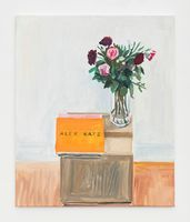 """View of the exhibition """"Flowers for books"""" at SEOUL Gallery Seoul (Corée du Sud), 2021 