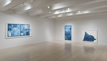 """View of the exhibition """"Amber Waves of Grain"""" at Pace Prints New York (USA) 