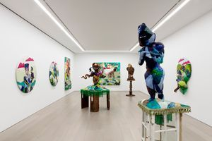 """View of the exhibition """"Trinket Eater"""" at NEW YORK Gallery LLC New York (USA), 2021 