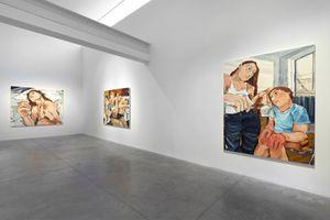 "View of the exhibition ""Del Llanto"" at Albertz Benda New York (USA) | Cristina BANBAN"