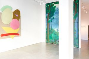 """View of the group exhibition """"The show will go on"""" at Nassima Landeau Tel Aviv (Israel) 
