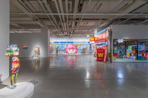 """View of the exhibition """"Quotidianist 日常派"""" at HOW Art Museum Shanghai (China), 2021 