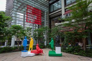 "Vue de l'exposition ""The Audience"" à Olympic Agora Tokyo Tokyo (Japan) | Xavier VEILHAN"
