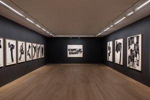 """View of the exhibition """"Paradigm of Charcoal"""" at HONG KONG Gallery Limited Hong Kong (Hong Kong), 2021   LEE Bae"""